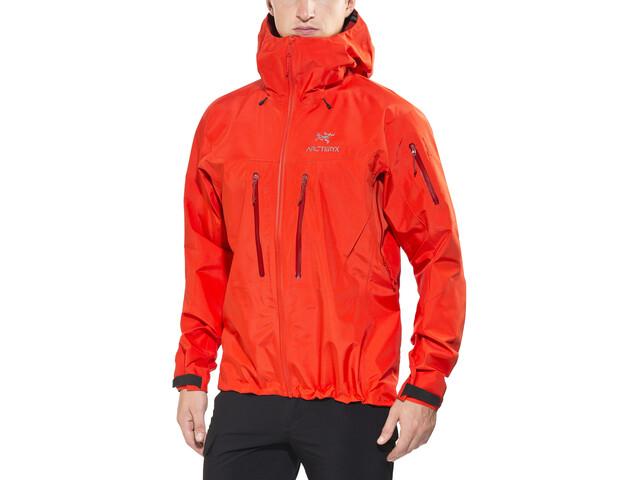 Arc'teryx Alpha SV Jacket Herren cardinal